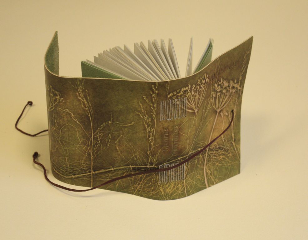 Leather bound book Omaras Chajamas Rubajatai: bookbinding-art.com